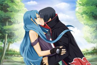 Free Uchiha Itachi and Akatsuki Kiss Picture for Android, iPhone and iPad