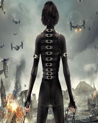 Alice In Resident Evil - Obrázkek zdarma pro Nokia X2-02