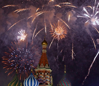 St. Basil's Cathedral, Moscow - Obrázkek zdarma pro 208x208