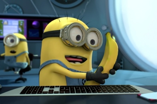 I Love Bananas - Obrázkek zdarma pro Samsung Galaxy
