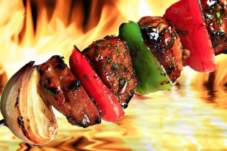 Grill Kebab sfondi gratuiti per cellulari Android, iPhone, iPad e desktop