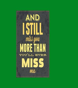 I Miss You - Obrázkek zdarma pro iPhone 6