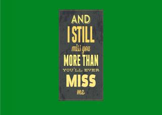 I Miss You - Obrázkek zdarma pro 1600x1280