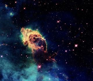 Galactic Clouds - Obrázkek zdarma pro 2048x2048