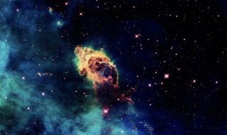 Galactic Clouds - Obrázkek zdarma pro HTC Desire