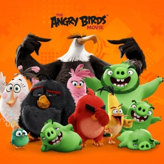 Angry Birds the Movie Release by Rovio - Obrázkek zdarma pro iPad mini 2