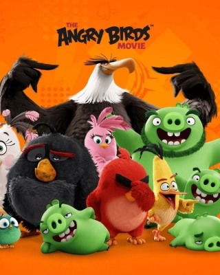 Angry Birds the Movie Release by Rovio - Obrázkek zdarma pro iPhone 5C