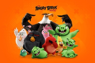 Angry Birds the Movie Release by Rovio - Obrázkek zdarma pro LG P500 Optimus One