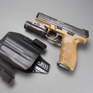 Pistols Heckler & Koch 9mm - Obrázkek zdarma pro 128x128