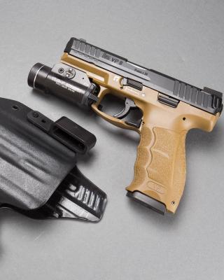 Pistols Heckler & Koch 9mm - Obrázkek zdarma pro 360x640