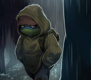 Sad Turtle - Obrázkek zdarma pro 320x320