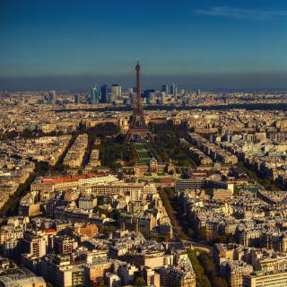 Paris Panoramic - Obrázkek zdarma pro 128x128