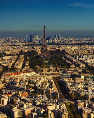 Paris Panoramic - Obrázkek zdarma pro iPhone 5