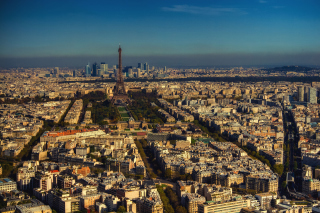 Paris Panoramic Wallpaper for Android, iPhone and iPad