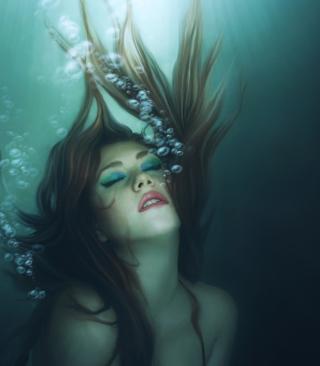 Underwater Bubbles - Obrázkek zdarma pro 352x416