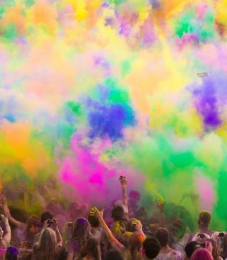 Festival Of Color - Obrázkek zdarma pro Nokia 300 Asha