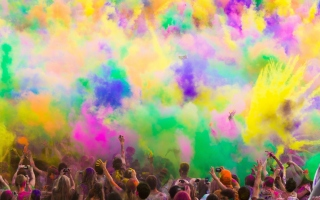 Festival Of Color Picture for Android, iPhone and iPad