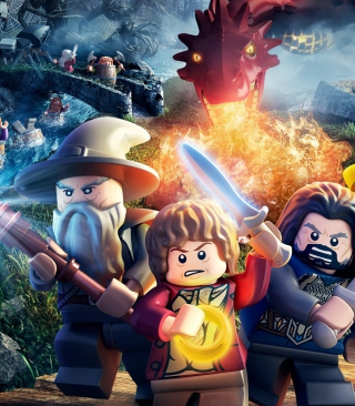 Lego The Hobbit Game - Obrázkek zdarma pro Nokia Lumia 800
