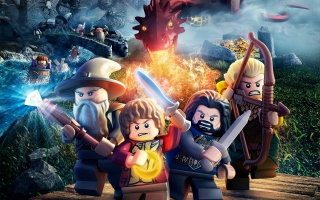 Free Lego The Hobbit Game Picture for Android, iPhone and iPad