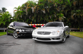 Compact Luxury Mercedes-Benz Picture for Android, iPhone and iPad
