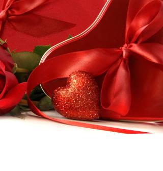 Red Heart Of Love - Obrázkek zdarma pro iPad Air