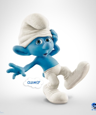 Clumsy Smurf - Obrázkek zdarma pro 640x960