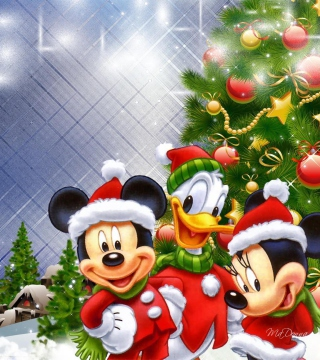 Mickey's Christmas - Obrázkek zdarma pro 208x208