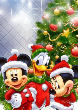Mickey's Christmas - Obrázkek zdarma pro 640x960