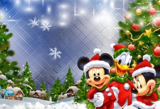 Mickey's Christmas - Obrázkek zdarma pro Samsung Galaxy Tab 3 8.0