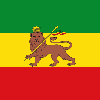 Flag of Ethiopia - Obrázkek zdarma pro iPad 2
