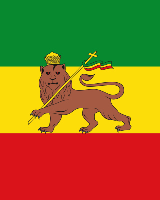 Flag of Ethiopia - Obrázkek zdarma pro 128x160