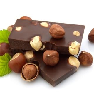 Chocolate With Hazelnuts - Obrázkek zdarma pro 208x208