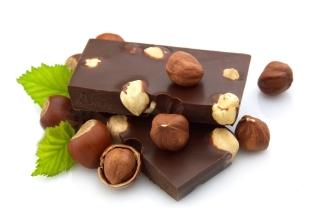 Chocolate With Hazelnuts - Obrázkek zdarma pro 1152x864