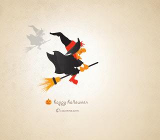 Halloween Witch - Obrázkek zdarma pro iPad