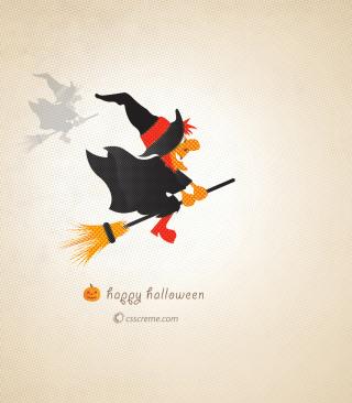 Halloween Witch - Obrázkek zdarma pro 480x640