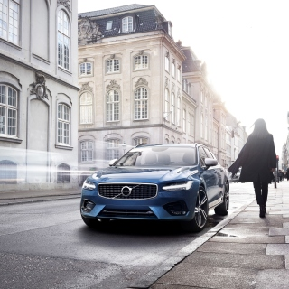 Volvo S90 - Obrázkek zdarma pro iPad