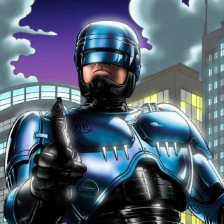 Robocop - Obrázkek zdarma pro iPad 3