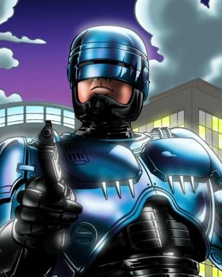 Robocop - Obrázkek zdarma pro Nokia X2