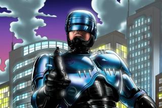 Robocop - Obrázkek zdarma pro Motorola DROID