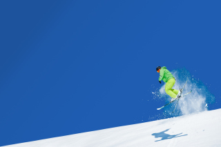 Extreme Skiing Background for Android, iPhone and iPad