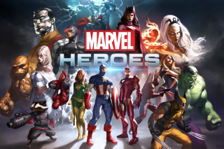 Marvel Comics Heroes Picture for Android, iPhone and iPad