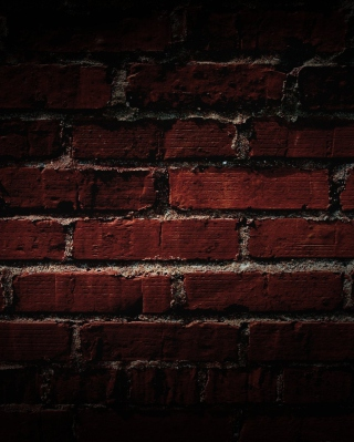 Red Brick Wall - Obrázkek zdarma pro 360x640