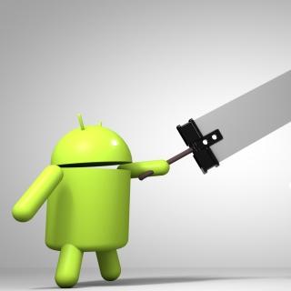 Android Logo - Obrázkek zdarma pro 320x320