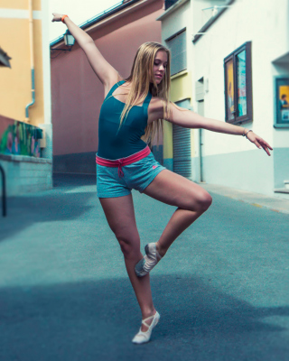 Street Acrobatic Dance - Obrázkek zdarma pro Nokia Asha 503
