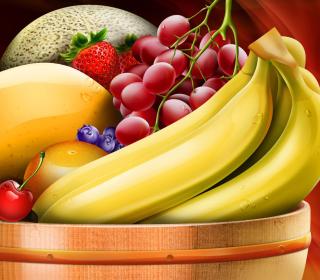 Fruit Basket - Obrázkek zdarma pro iPad mini 2