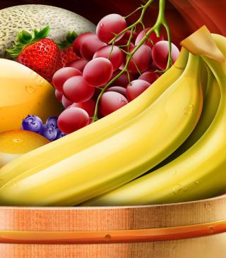 Fruit Basket - Obrázkek zdarma pro Nokia Asha 305