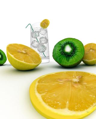 Lemons And Kiwi - Obrázkek zdarma pro Nokia C2-00