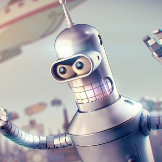 Bender - Obrázkek zdarma pro iPad Air