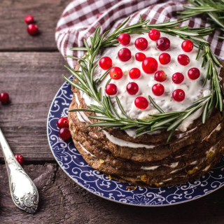 Pancakes with Berries - Obrázkek zdarma pro iPad mini 2
