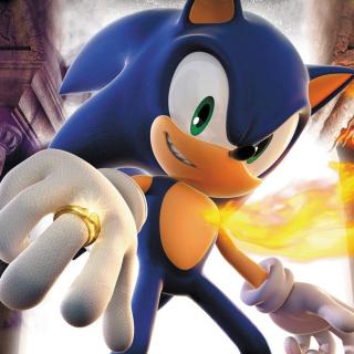 Sonic - Obrázkek zdarma pro iPad